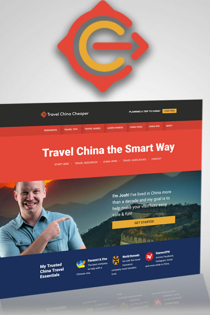 Travel China Cheaper website screenshot